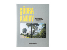 "Omslag ""Södra Ängby - modernism, arkitektur, landskap"""