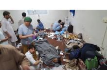 Våra team fortsatte att arbeta omedelbart efter bombningen av vårt sjukhus i Kunduz i lördags.