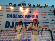 SVT slog TV4 – trots hemliga dansen - Casten och Steffo dock i högform