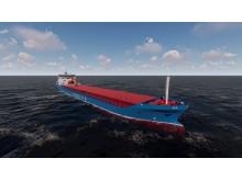 Arrivas nye bulkskip