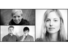 Cecilia Eduards, Mattias Chrisander och Patrick Iu från Múk och Maria Sandberg
