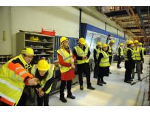 EU naboer besøger danske virksomheder for at lære om energioptimering
