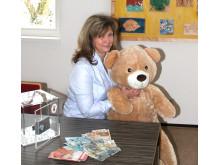 Stetiges Engagement kommt aus Altenburg: Yoga für Bärenherz