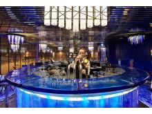 Glasbaren på Kosta Boda Art Hotel