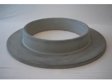 Planting ring made of concrete