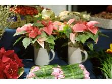 Blomstrande julbord