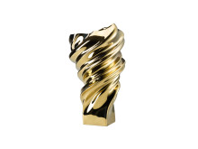 R_Squall_Gold titanium_Vase 32 cm