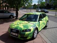 Fordonsdekor Audi