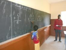 Fightness bidrar med ett nytt klassrum i Mopti och  är del av ett större skolprojekt Barnfonden startade 2017.
