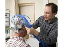Prototypen av Strokefinder som använts i patientstudierna