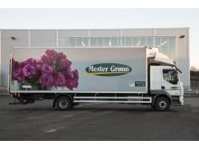 Mester Grønn lastebil