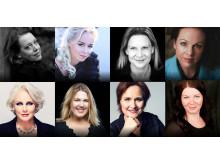 Nina Stemme, Elisabeth Strid, Annalena Persson, Matilda Paulsson, Iréne Theorin, Christina Nilsson, , Katarina Dalayman, AnnLouice Lögdlund