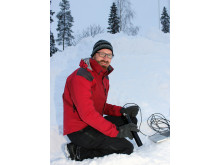 Johan Casselgren, forskare i experimentell mekanik vid Luleå tekniska universitet