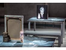 Ylva Snöfrid:  ur installationen Målarens ateljé i skuggvärlden och konsten i samvetets ljus