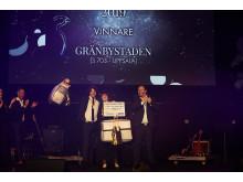 JYSK i Gränbystaden, Uppsala, vann pris för ÅRETS OMSÄTTNINGSÖKNING 2019