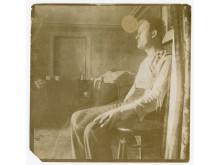 Edvard Munch i et rom på kontinentet I, 1906