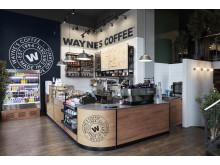 Wayne´s Coffee concept design