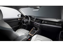 Audi A1 (Chronos Grey) cockpit