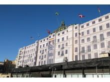 Grand Hotel fasadrenovering Stockholm