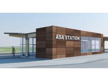 Resandet från Åsa station fortsätter öka
