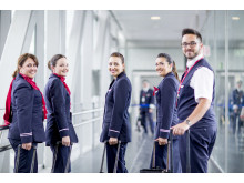 Norwegian's cabin crew.