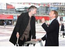 Martin Rörby, Stockholms stads Skönhetsråd och Per Nimér, chefsdesigner för AkzoNobel.