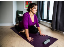 Online yoga that bends around your life