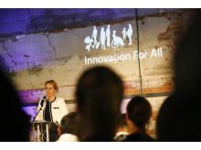 Innovation for All 2018: Barne- og likestillingsminister Linda Hofstad Helleland