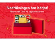 Live it lanserar upplevelsetävling i centrala Stockholm.