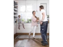 Slipade hantverkare gör renoveringen smidig - Bona Certified Craftsmen