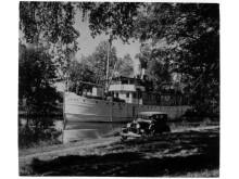 Pressbild - Göta Kanal - m/s Juno historisk bild