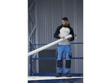 6351 AllroundWork, Stretch arbeidsbukse med løs passform