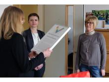 Sabina Hrustic och Ann Clewåker, upphandlingsenheten.