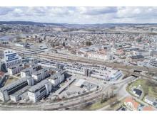 Stillverksveien 1-9 ligger sentralt i Lillestrøm