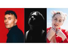 Oskar Linnros, Lorentz och Maja Francis spelar 23 maj