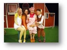 Söndagsscen:  En gris flyttar in!  med Teater Morianen