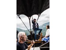 Einer der Festivalhöhepunkte: Arien auf dem Fjord
