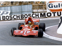 Ronnie Peterson i sin March 721X på Monacos gator 1972. På söndag uppvisningskörs bilen under STCC-deltävlingen på Anderstorp Raceway. Foto: Privat
