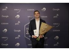 Vinder af Årets Digitale Omstilling 2016: Andreas Helgstrand, Helgstrand Dressage
