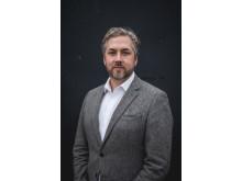 Erik Johansson, förlagschef Bokfabriken