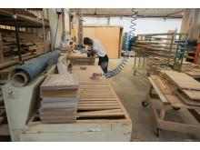 Tradisjonelt håndverk på Gaio-fabrikken