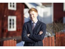 Finalist SM för unga plåtslagare 2015 Viktor Wahrenberg, Falun