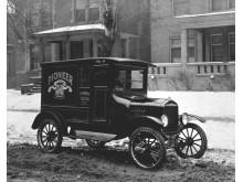 1920 Ford Model TT Panel Delivery truck neg 91478