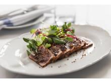 Grillad tonfisk på menyn Boston Grill