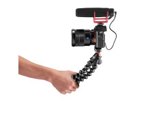 Joby Gorillapod 3K Pro Photo_Tripod_JOBY_GP_3K-PRO-Kit_JB01566-BWW_selfie_mode_Mic_sideview_DSLR