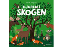 Sarah Sheppard läser om djuren i skogen
