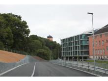 Ny väg på Akademiska sjukhuset invigdes 3 juni
