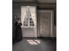 Vilhelm Hammershøi: Interior, Strandgade 30.