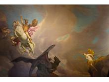 Plafondmålning Perseus befriar Andromeda