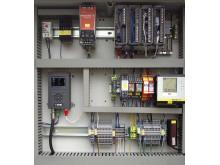 Radiomodem i apparatskåp